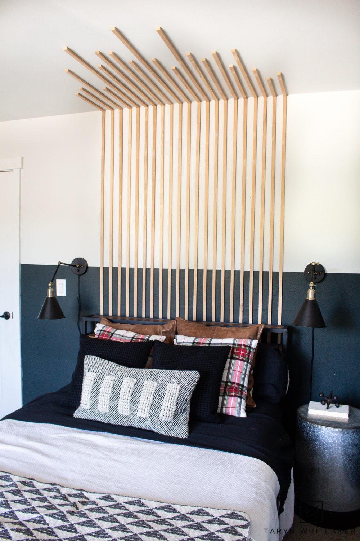 Bedroom Vertical Slat Wall Taryn Whiteaker