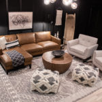 Moody Modern Movie Room Reveal