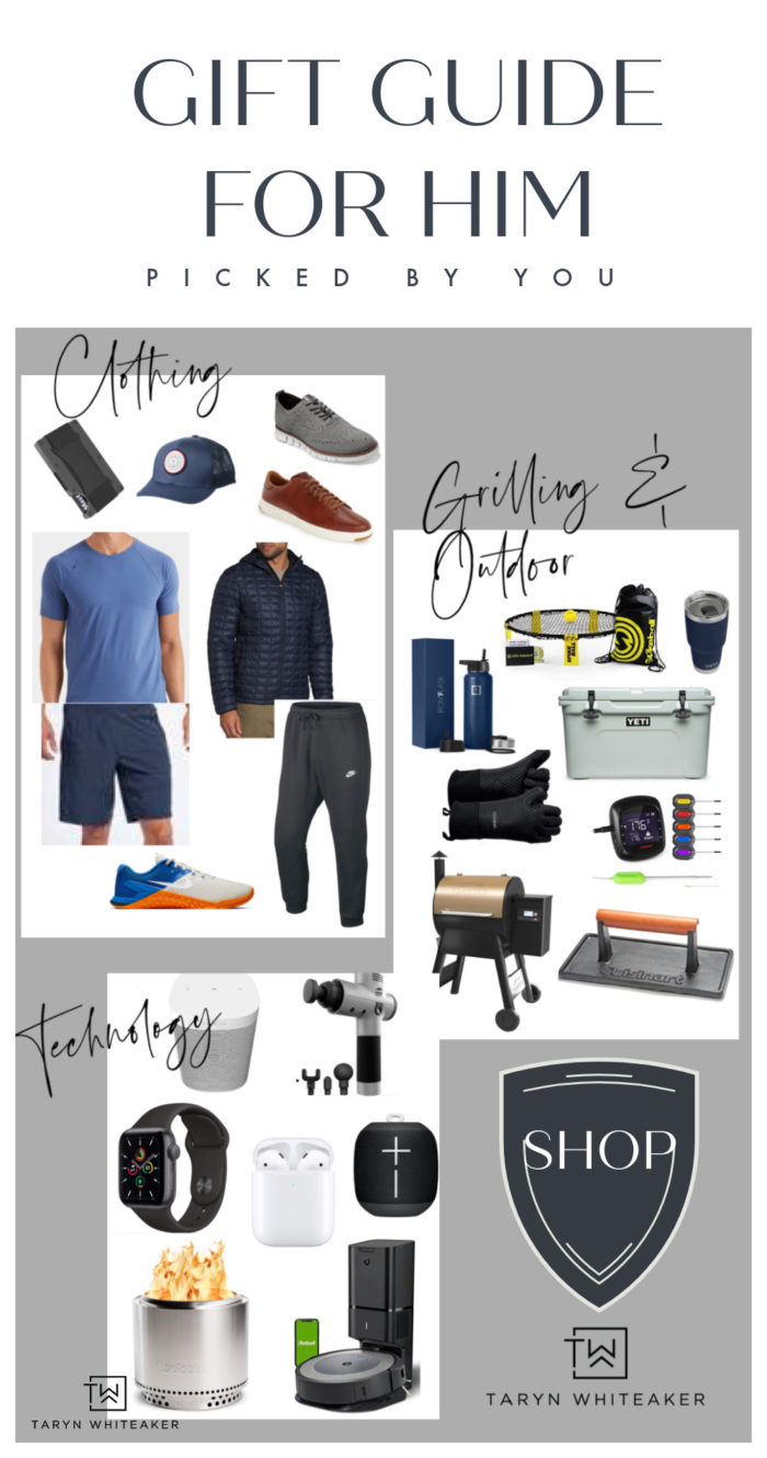 THE Ultimate Guys Gift Guide! Need some ideas for the man in your life? These items are all hand picked from things real guys love!