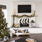Neutral Christmas Decor - Our Home Tour