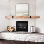 Modern Mirror for over the Mantel