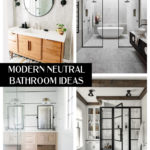 Modern Neutral Bathroom Ideas
