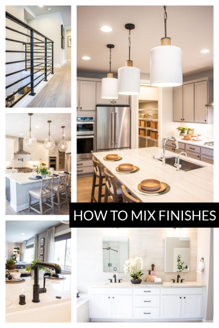 See these examples of How To Mix Metals In Your Home to get a coastal farmhouse look, earthy contemporary or retro mid-mod.