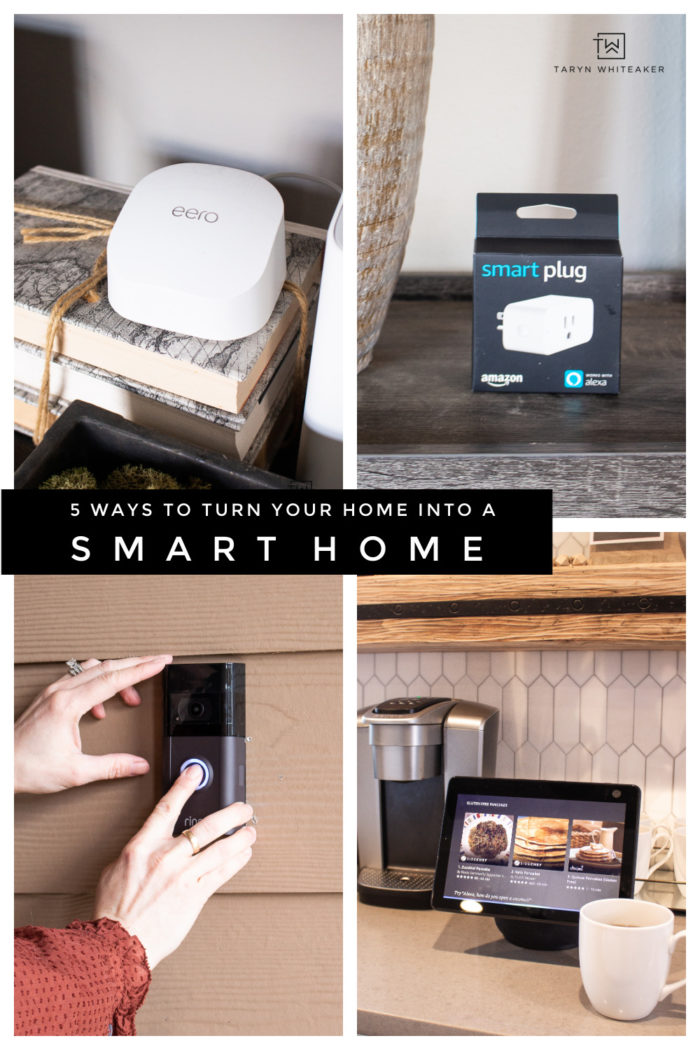 Here are 5 Smart Home Ideas For Your Home ! Get your home up to date with the latest technologies to make it practical and protected.