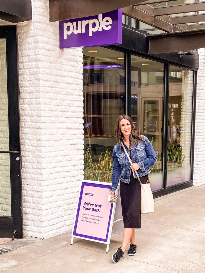 Visiting the Purple Mattress Store