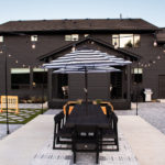 Modern Outdoor Dining Space