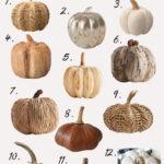 The Best Decorative Pumpkins