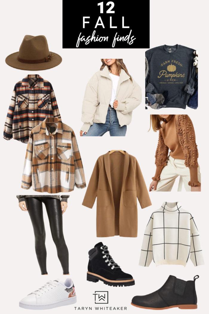 Women's Fall Fashion Finds! Budget friendly fall clothing ideas.
