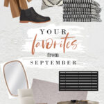 Your Favorites From September