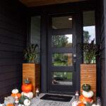 Modern Fall Porch Display